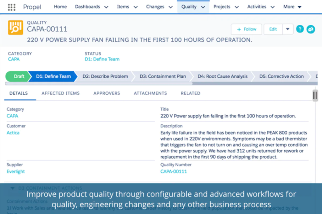 Screenshot of Propel - Product Management Software