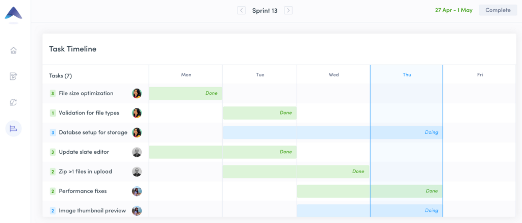 Screenshot of Tara - Product roadmap tools