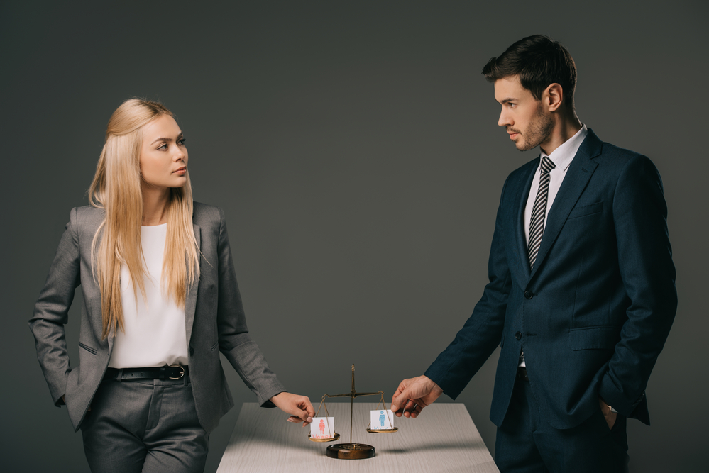 Photo of Male and Female Business Colleagues