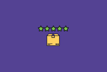 illustration of product box with stars above it for product experience management software
