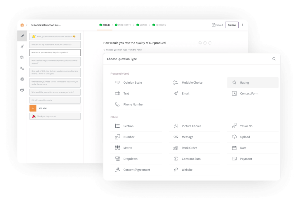 Screenshot Of SurveySparrow Product Experience Management Software