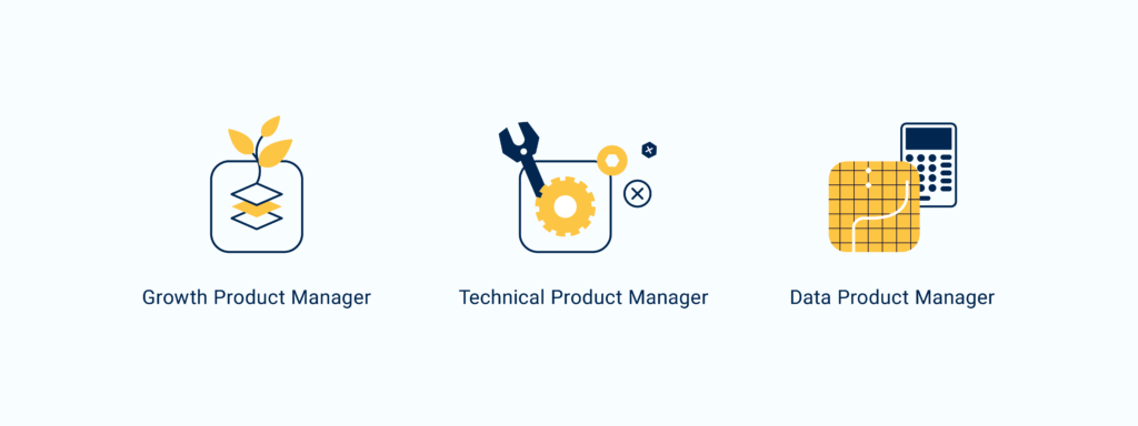Graphics for project manager roles